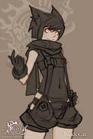 FA: Black Cat sketch by dinmoney