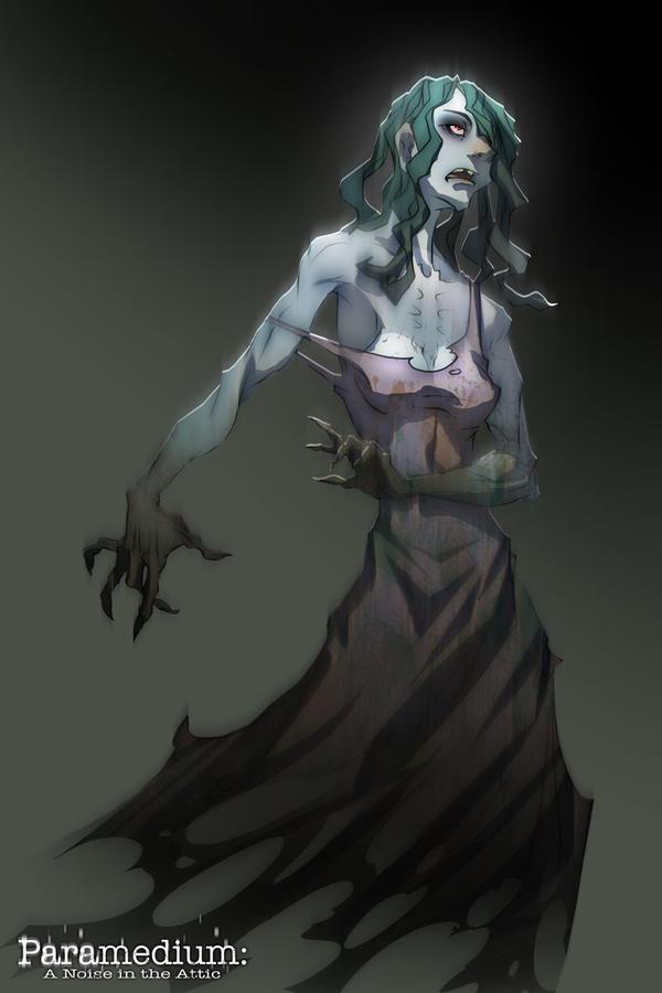 Paramedium: Ghost by dinmoney