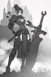 Faulty Apprentice: Sword Instructor sketch
