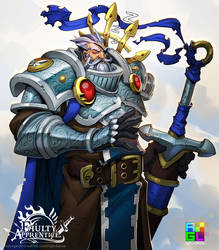 FA: Sir Quintus the Hundred Quest Knight by dinmoney