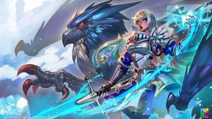 Commander Angeline by dinmoney