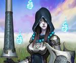 Faulty Apprentice: Ghost Guard by dinmoney