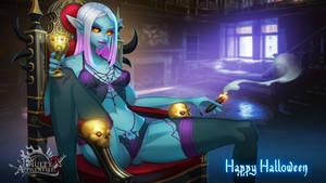Dark Elf Halloween