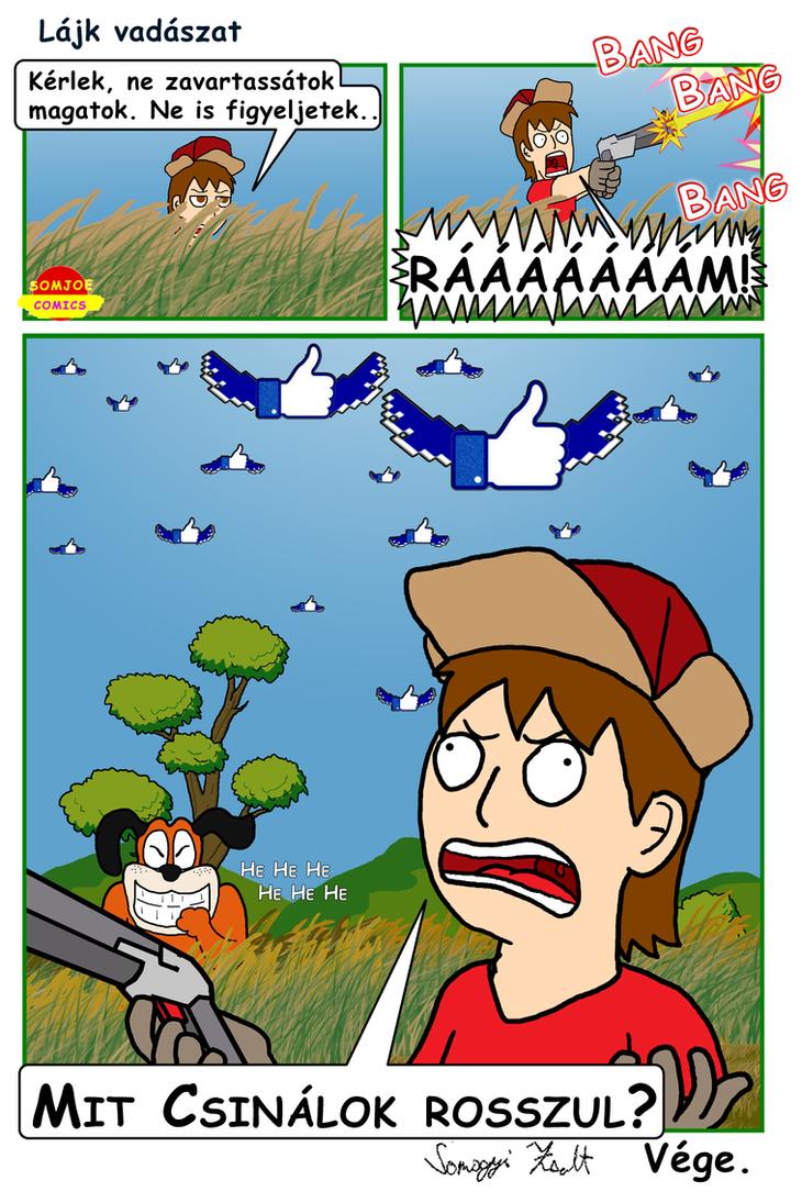 Lájk vadászat