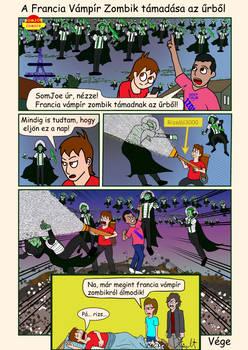 118 A Francia Vampir Zombik tamadasa az urbol