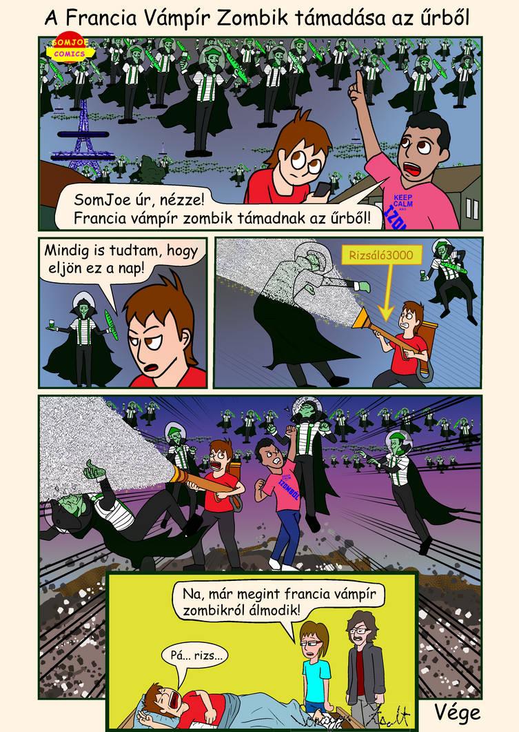 118 A Francia Vampir Zombik tamadasa az urbol by somjoe