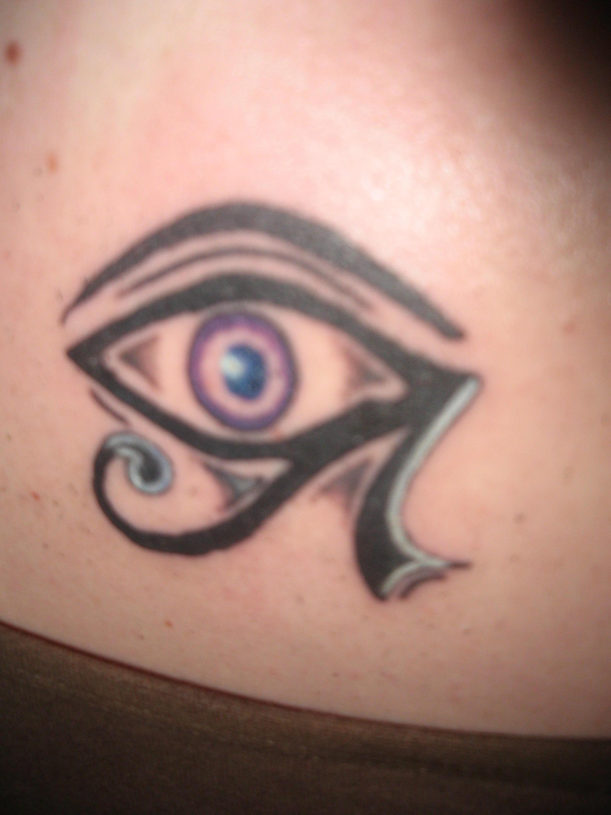 ra eye tattoo