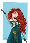 Princess Merida Disney Pixar Brave