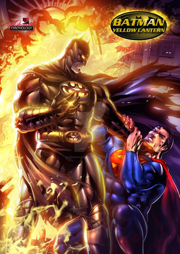 yellow lantern superman - 600×849