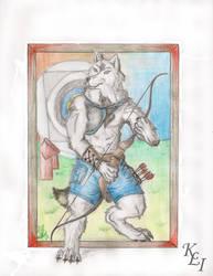 Archer by kaniz-lupuz