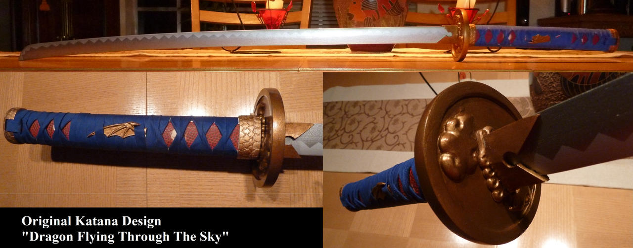 Flying Dragon Katana by Solvash