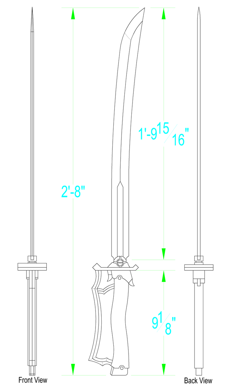 It is a picture of Revered Sword Template Printable