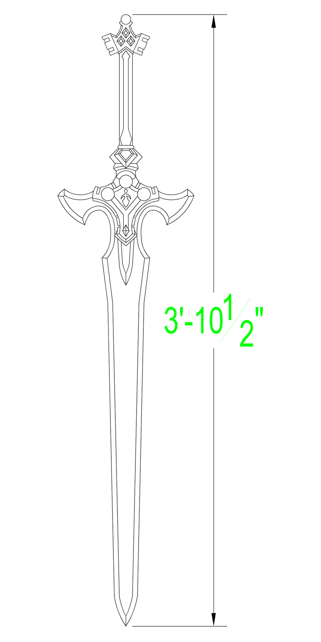 Sword Art Online Excalibur Template By Solvash On Deviantart