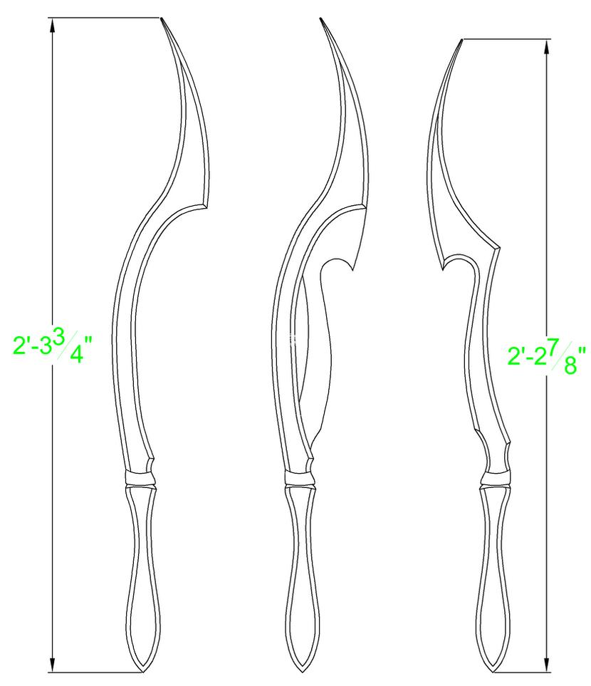 bloodborne blades of mercy template by solvash on deviantart