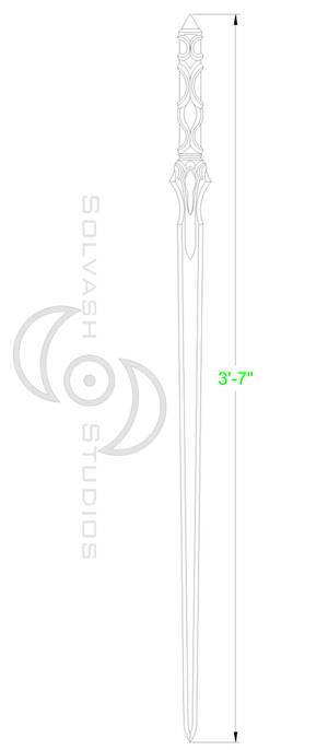 Sword Art Online: Asuna ALO Sword Template