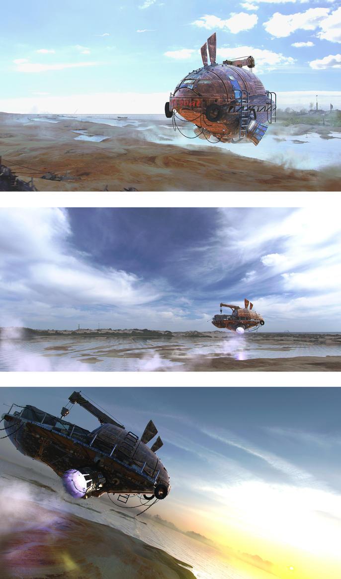 Half-boat by unisaul