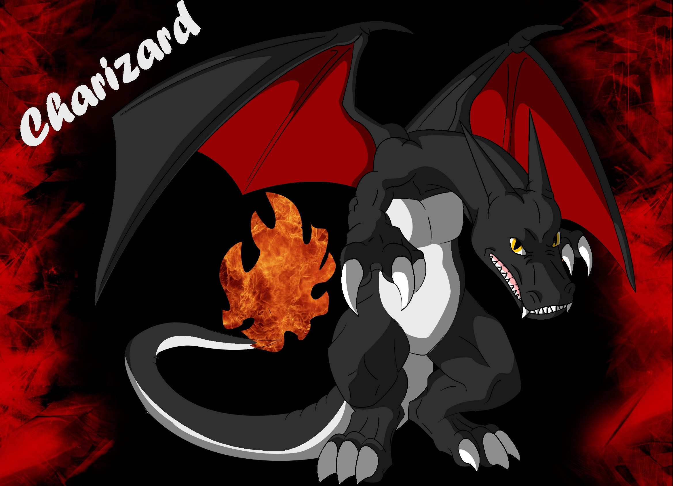The wallpaper currently on ryuujin - Shiny Charizard By Ryuujin Shizunamo27 Shiny Charizard By Ryuujin Shizunamo27