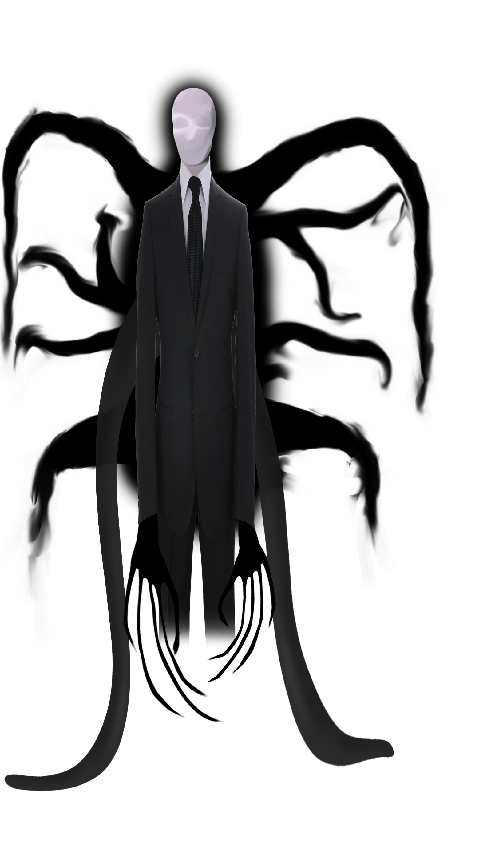 slenderman character by its only levi on deviantart