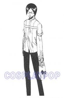 Uryuu Ishida Quincy Uniform in Bleach by meganpu