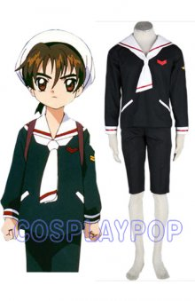 Cardcaptor Sakura Boys Winter Costume Outfit by meganpu