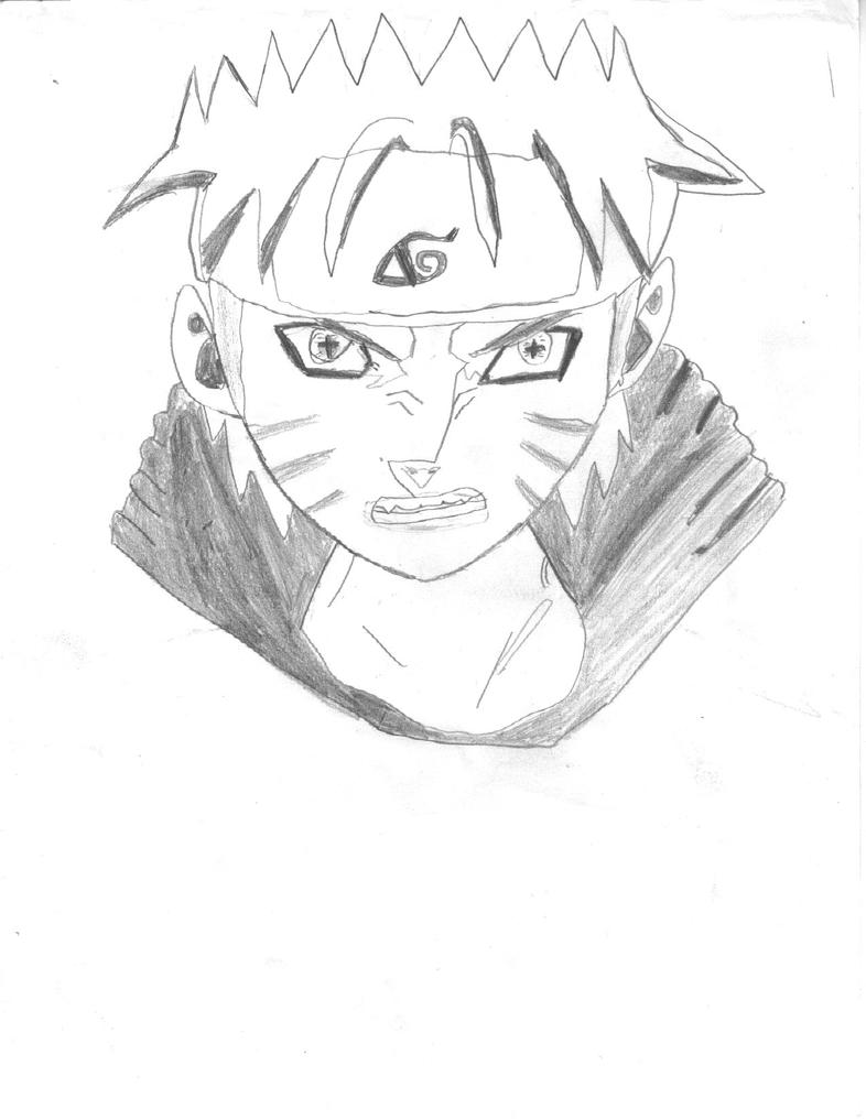 ImageSpace - How To Draw Naruto Kyuubi Mode   gmispace com