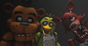 Five Nights at Freddys - The Animatronics