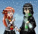 Merry Christmas, Lily - Christmas Card 2010 by guardian-of-moon