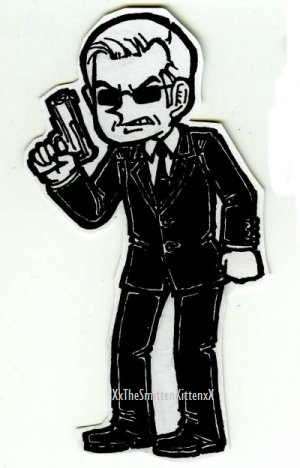 Agent Smith by XxTheSmittenKittenxX
