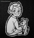 Kid Tintin and Puppy Snowy by XxTheSmittenKittenxX