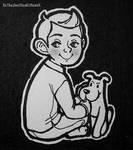 Kid Tintin and Puppy Snowy by XxTheSmittenKittenxX