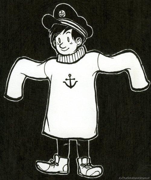 I'm a Captain too, Papa! by XxTheSmittenKittenxX