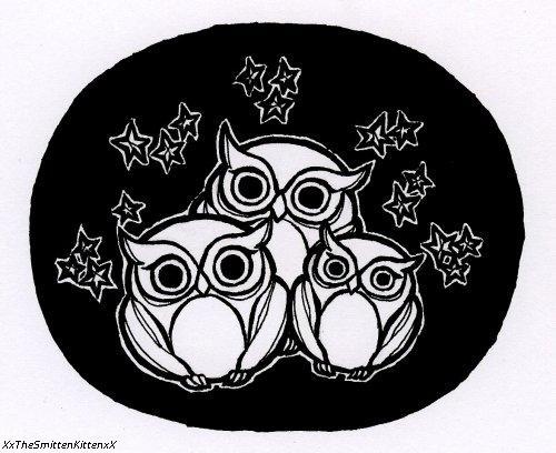 Owl Thrice by XxTheSmittenKittenxX