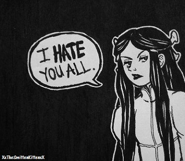 Leah Hates You All by XxTheSmittenKittenxX