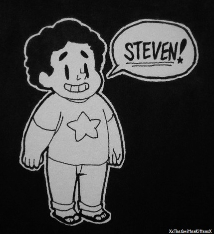 This is my very first steven universe drawing. I hope it's not crap.