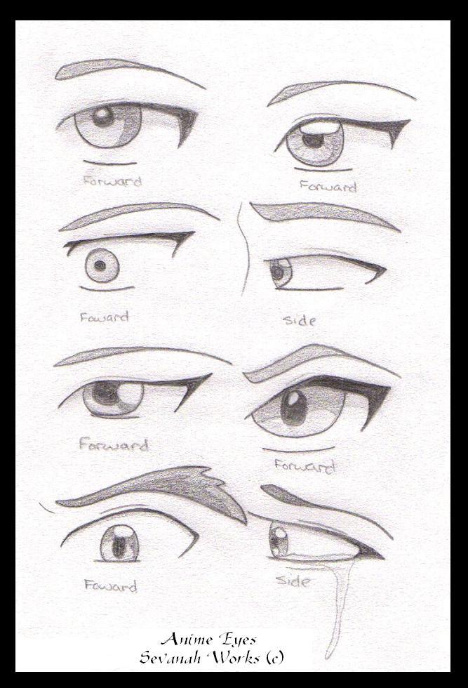 Anime Eyes Sideways Anime Eyes by Theforgottenmyth