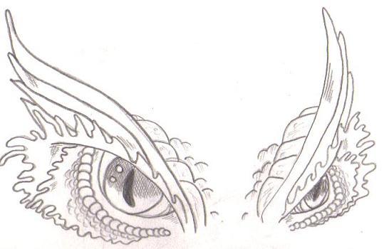 Dragon eyes by theforgottenmyth