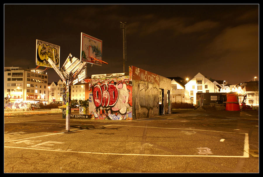Basketball court by mo2g