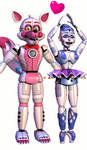 .:Ballora x Funtime Foxy:.
