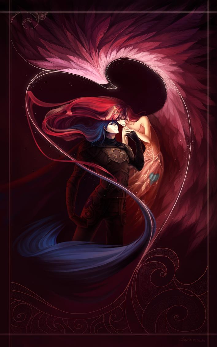 Shining Armor and Mi Amore Cadenza by LarestSabara