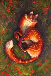 Red tiger by LarestSabara