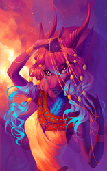 Egypt princess by LarestSabara