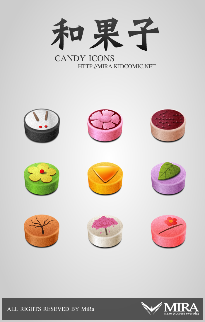 Candy icons by silencemira