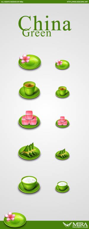 China Green icons