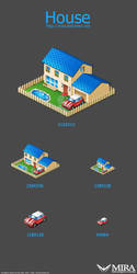 Icon design 'house' by silencemira