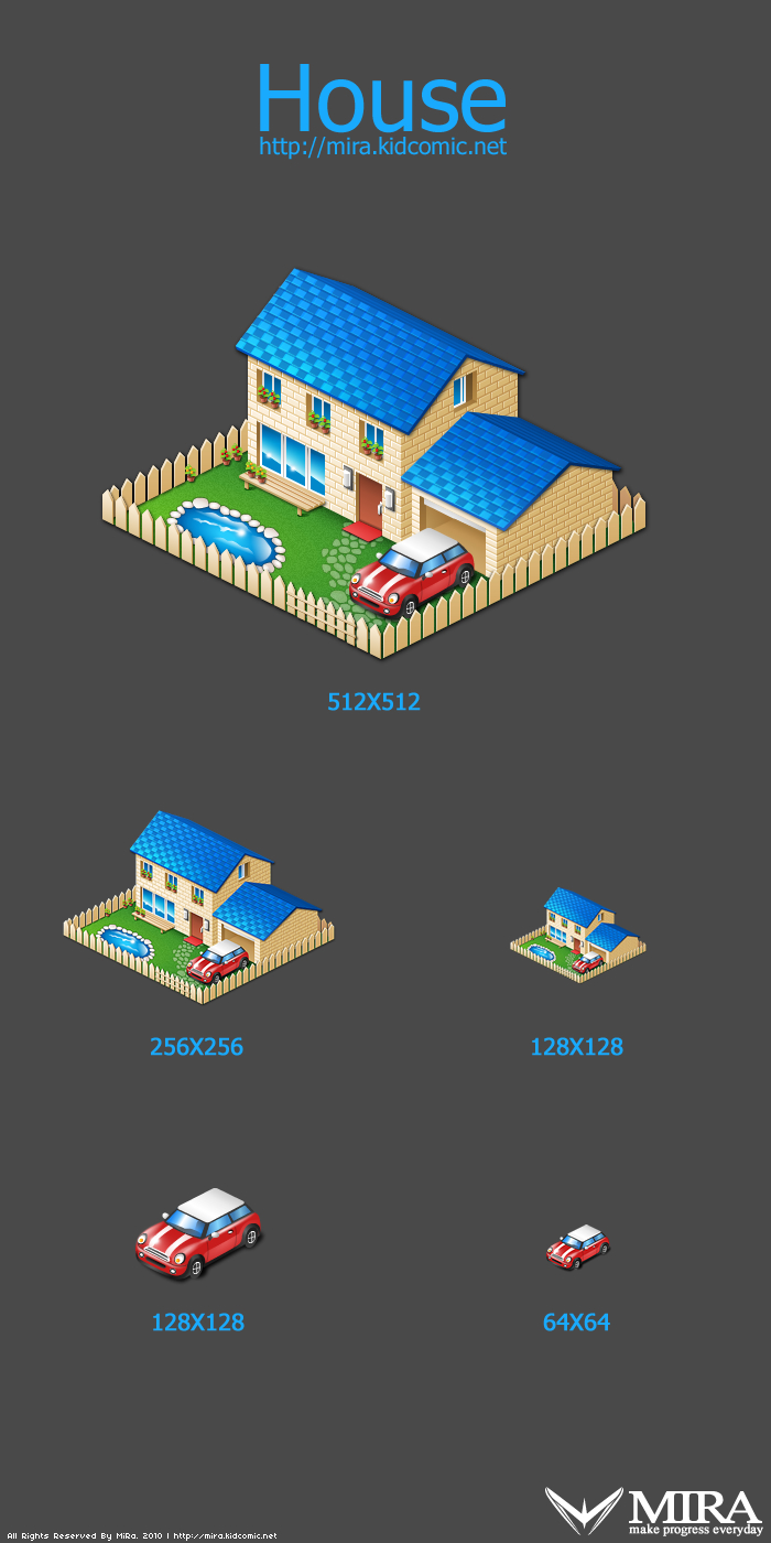 "Icon design ""house"" by silencemira"