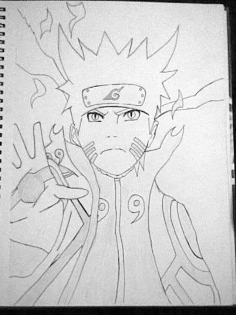 Naruto Bijuu mode by monmilo9 on DeviantArt