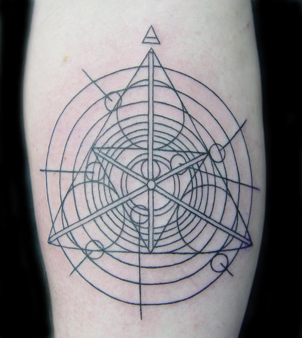 Pink Floyd Symbol Drawing