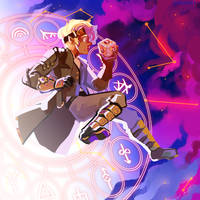 Commission: Remy and the Astral Gate