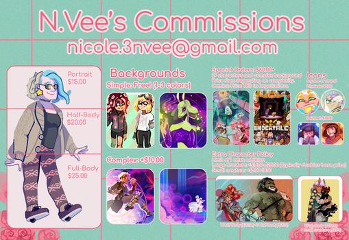 N.Vee's Commissions