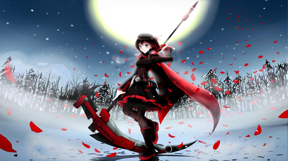 RWBY fan art - Ruby by nyuki7848 on DeviantArt  |Ruby Red Fan Art